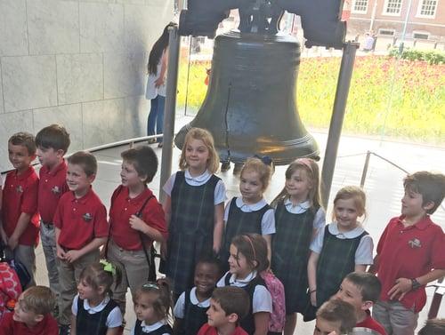1st grade liberty bell