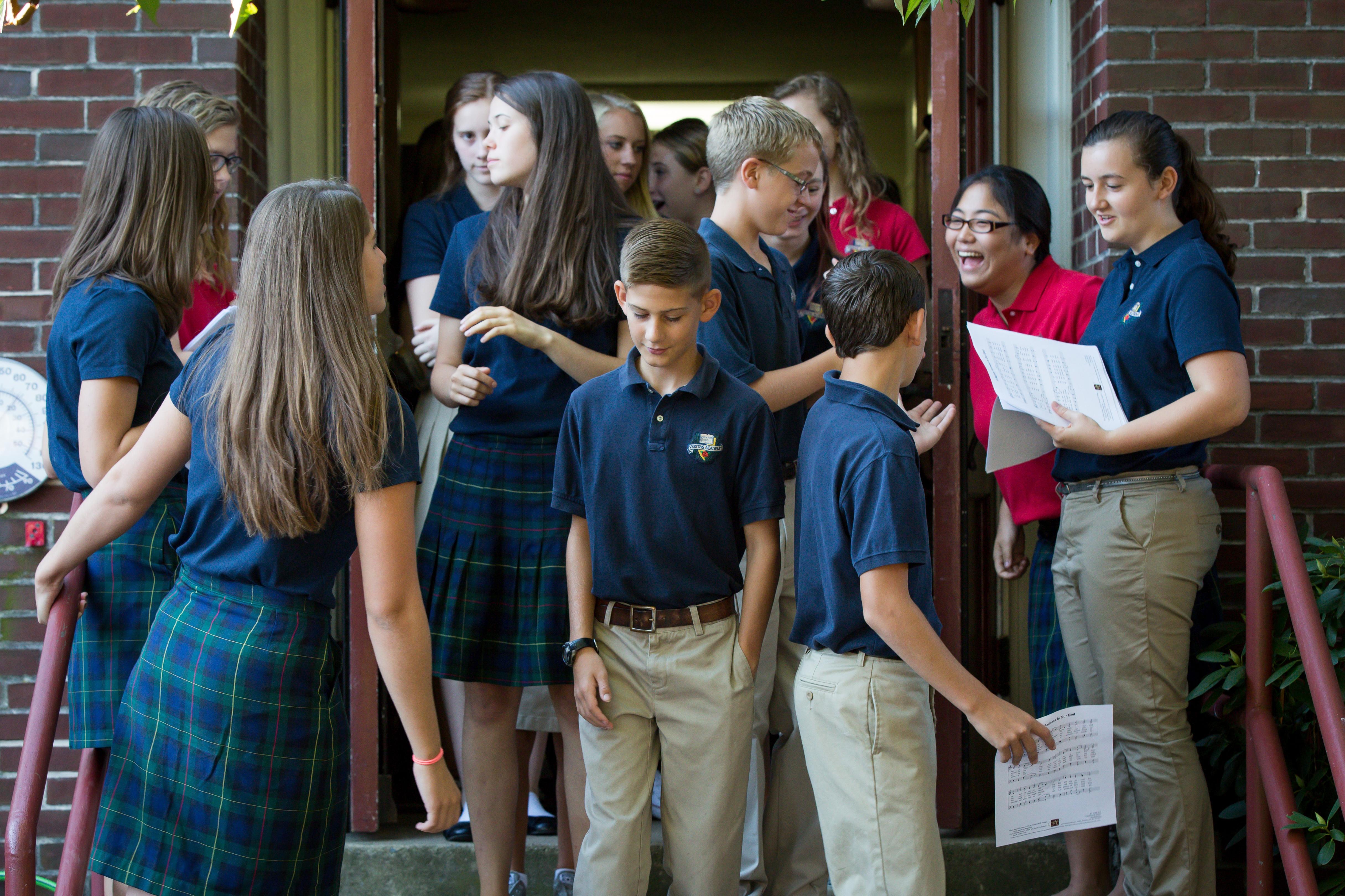 veritas students   Veritas Academy   Classical Christian School