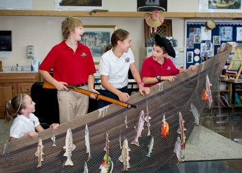 5th grade colonial boat tea party