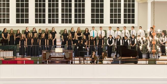 student choir group | Veritas Academy | Classical Christian School