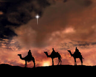 Epiphany celebrates Christ's light to the Gentiles as the wise men came to visit him