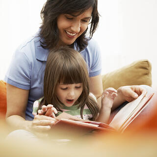 Reading to your child is the best way to prepare them for school. Tried and true, because it works and it's fun!