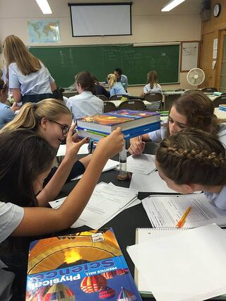Our students have fun while experiencing a highly engaging yet challenging learning environment.