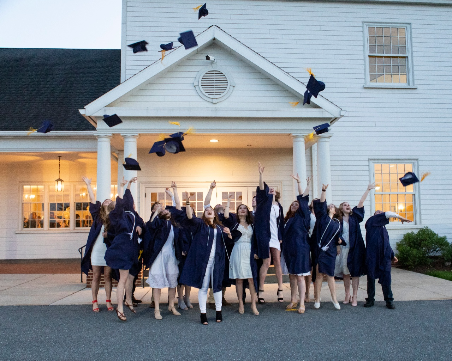 graduation cap toss 2019