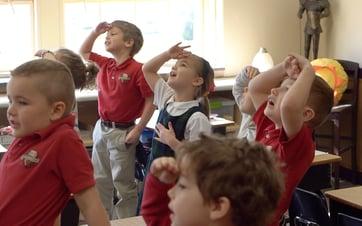 kindergarten and preschooler in Lancaster County